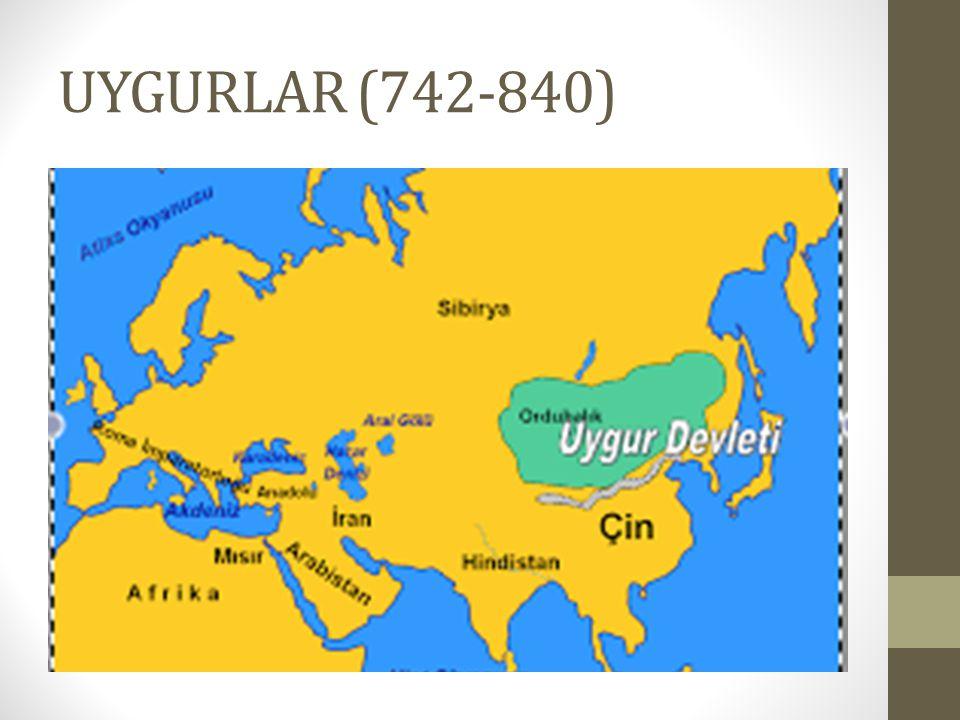 UYGURLAR (742-840)