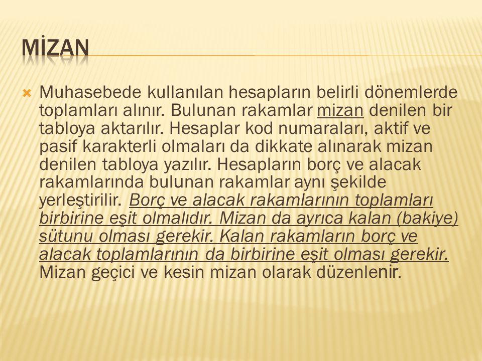 mİzan