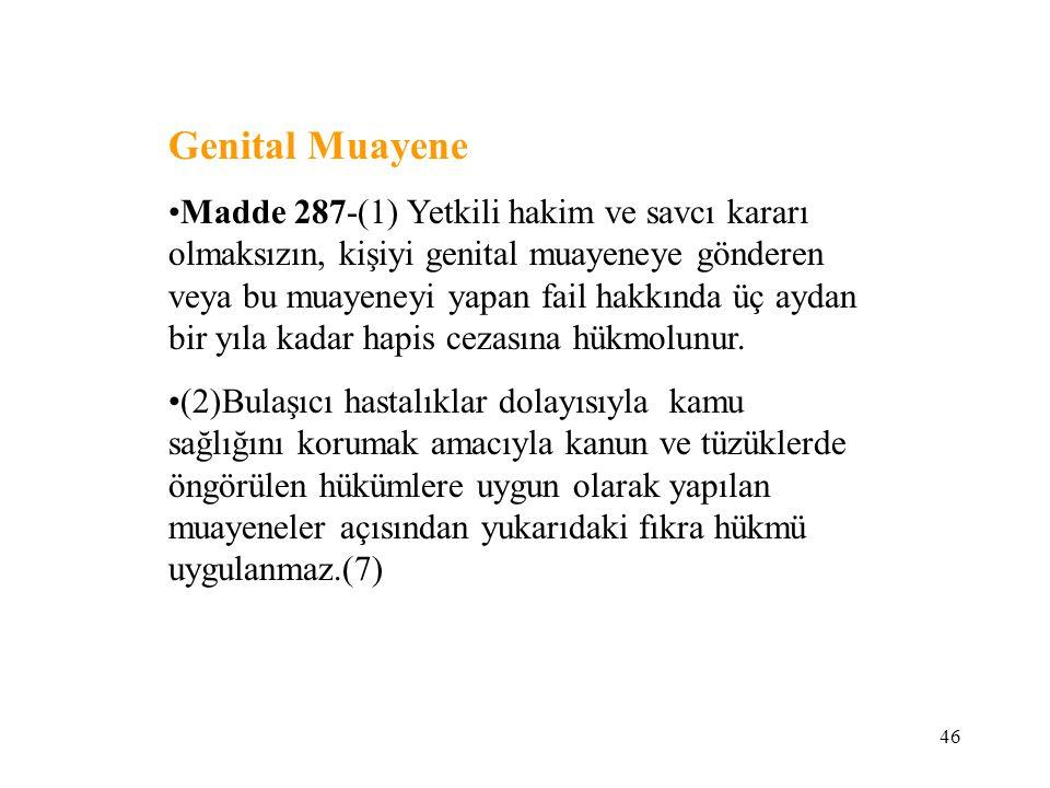 Genital Muayene