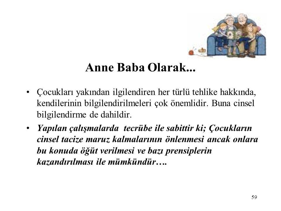 Anne Baba Olarak...