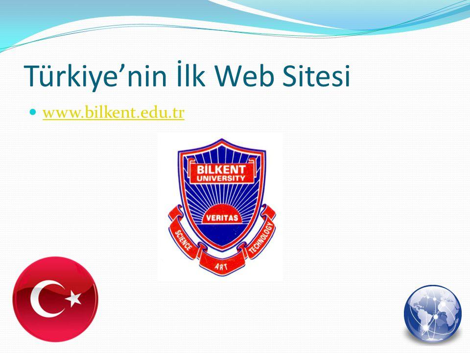 Türkiye'nin İlk Web Sitesi