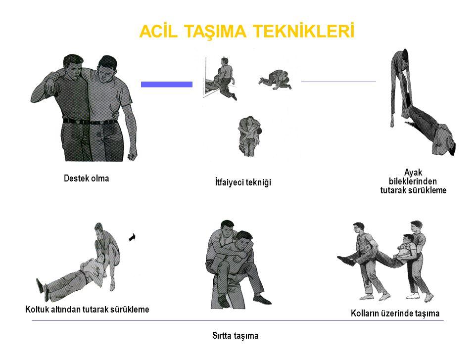 ACİL TAŞIMA TEKNİKLERİ
