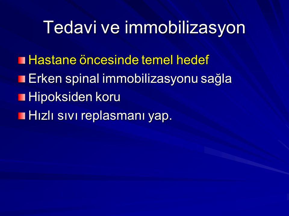 Tedavi ve immobilizasyon