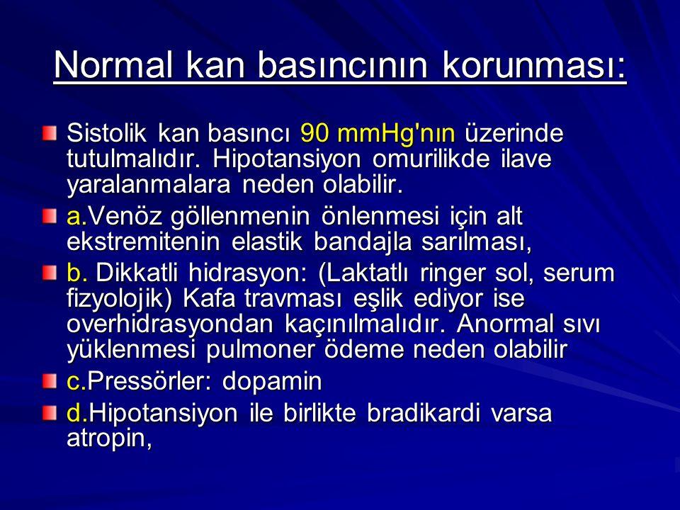 Normal kan basıncının korunması: