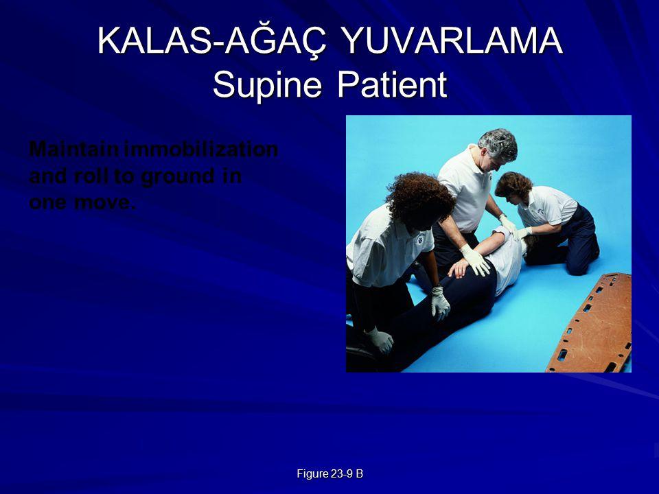 KALAS-AĞAÇ YUVARLAMA Supine Patient