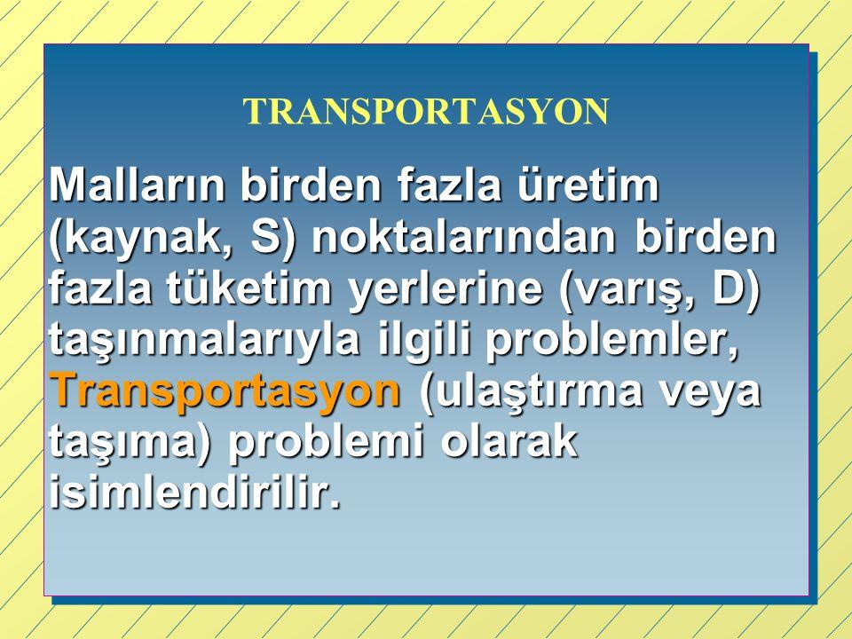 TRANSPORTASYON