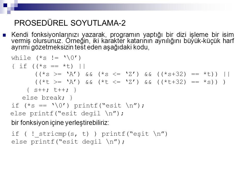 PROSEDÜREL SOYUTLAMA-2