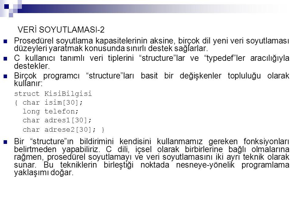 VERİ SOYUTLAMASI-2
