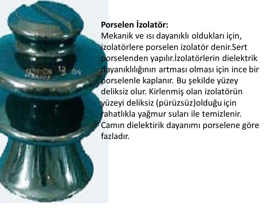 Porselen İzolatör: