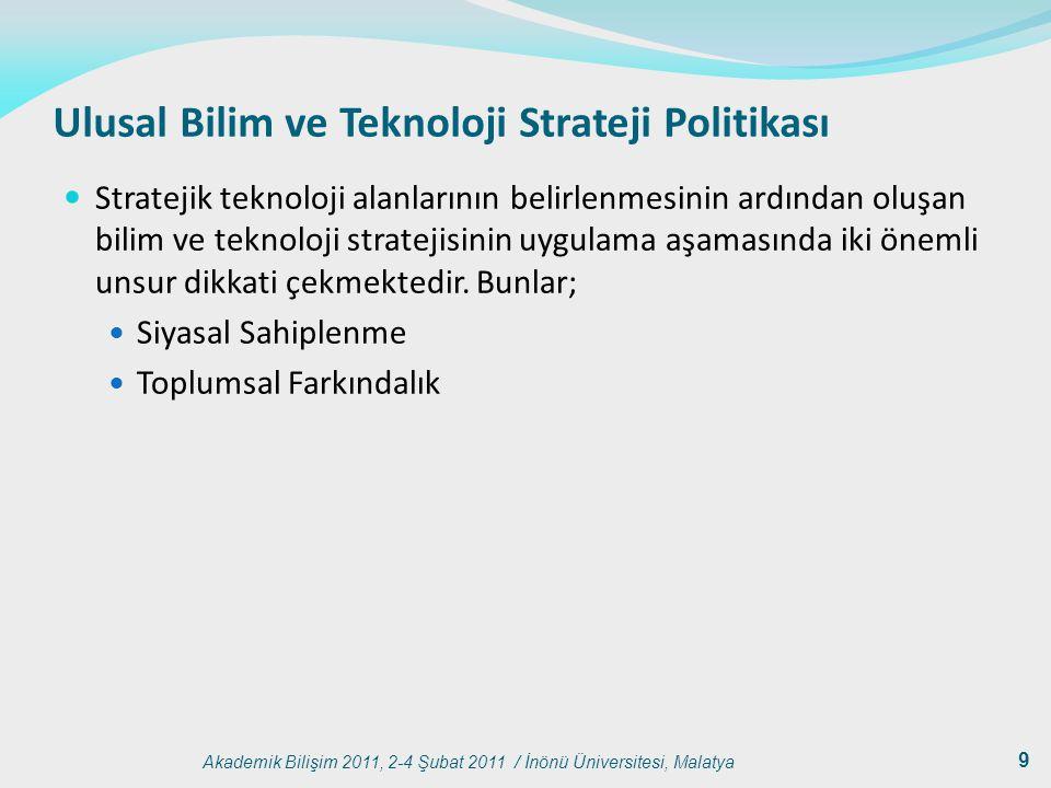 Ulusal Bilim ve Teknoloji Strateji Politikası