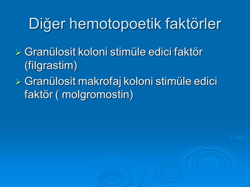 Diğer hemotopoetik faktörler