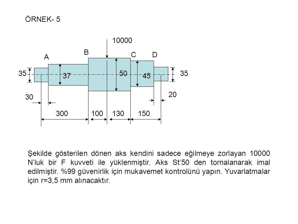 ÖRNEK- 5 300. 100. 130. 150. 30. 20. 10000. A. B. C. D. 37. 50. 45. 35.