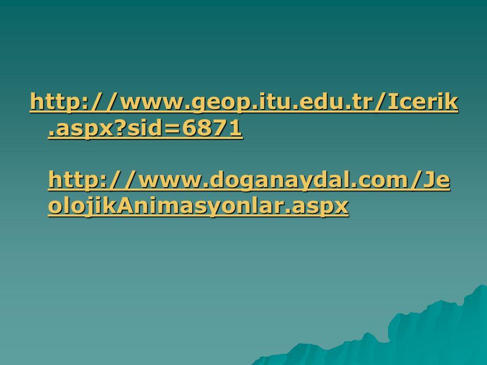 http://www. geop. itu. edu. tr/Icerik. aspx. sid=6871 http://www