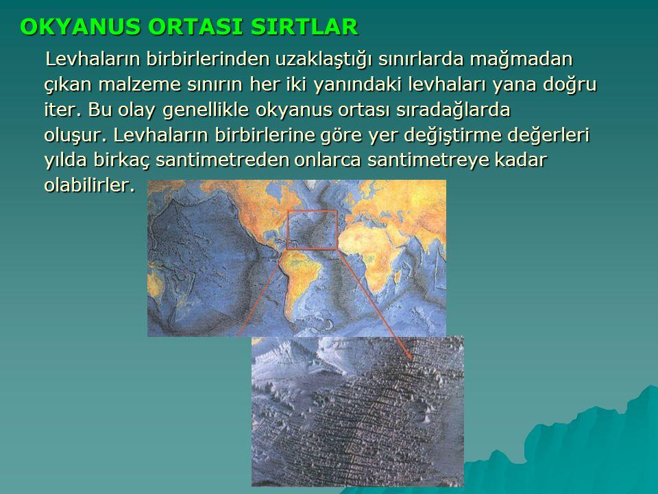 OKYANUS ORTASI SIRTLAR