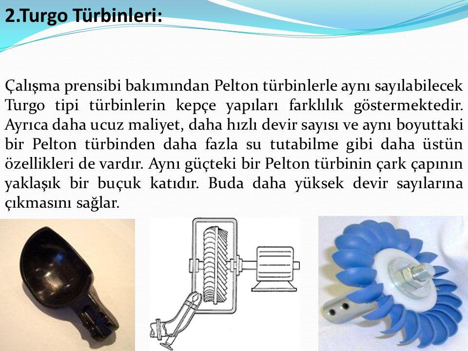 2.Turgo Türbinleri: