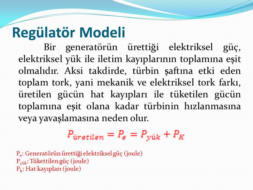 Regülatör Modeli