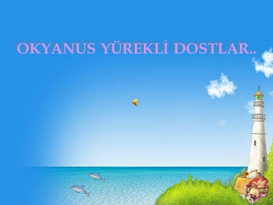 OKYANUS YÜREKLİ DOSTLAR..
