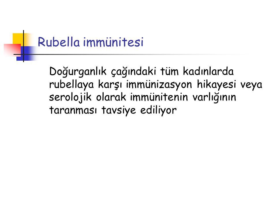 Rubella immünitesi