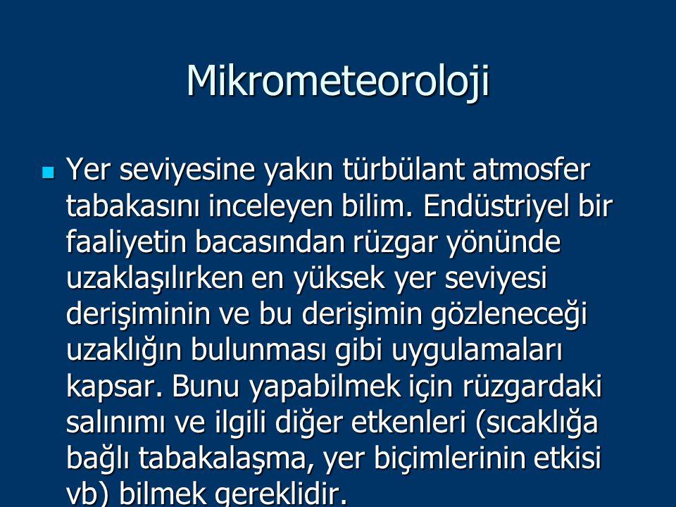 Mikrometeoroloji