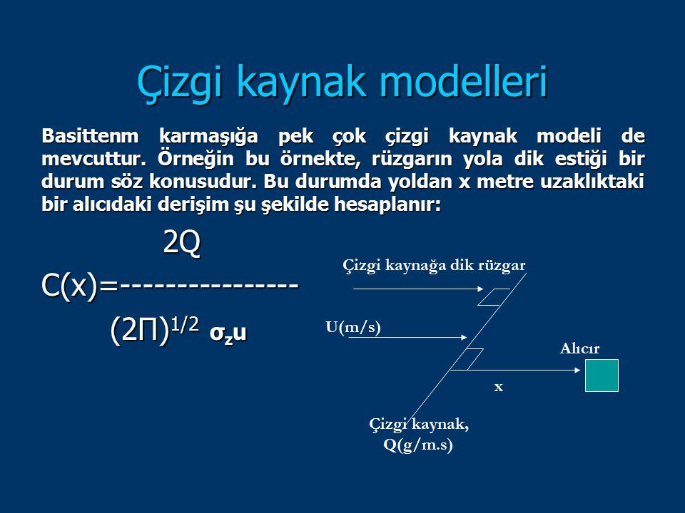 Çizgi kaynak modelleri
