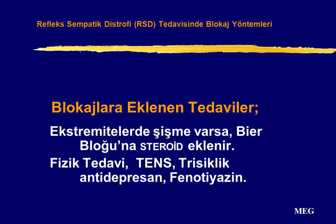 Refleks Sempatik Distrofi (RSD) Tedavisinde Blokaj Yöntemleri
