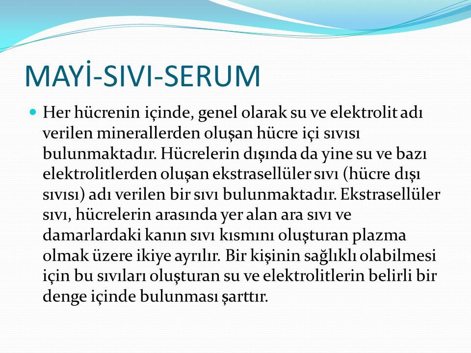 MAYİ-SIVI-SERUM
