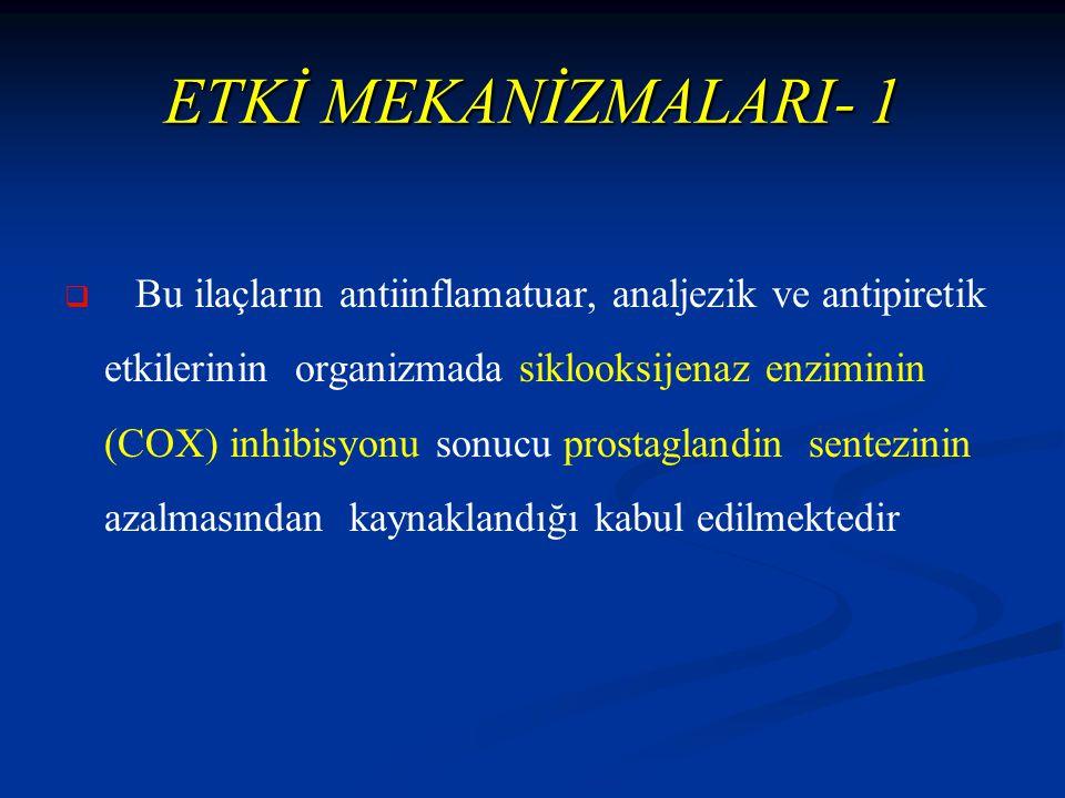ETKİ MEKANİZMALARI- 1