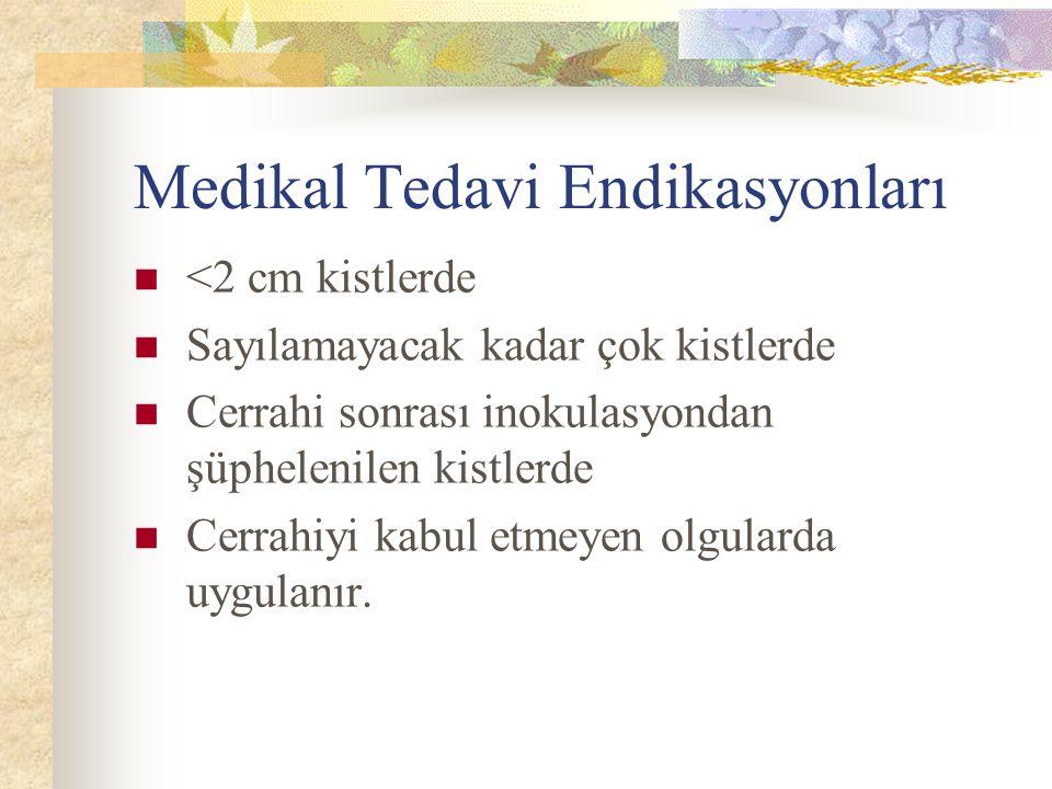 Medikal Tedavi Endikasyonları