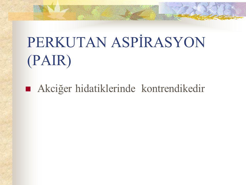 PERKUTAN ASPİRASYON (PAIR)