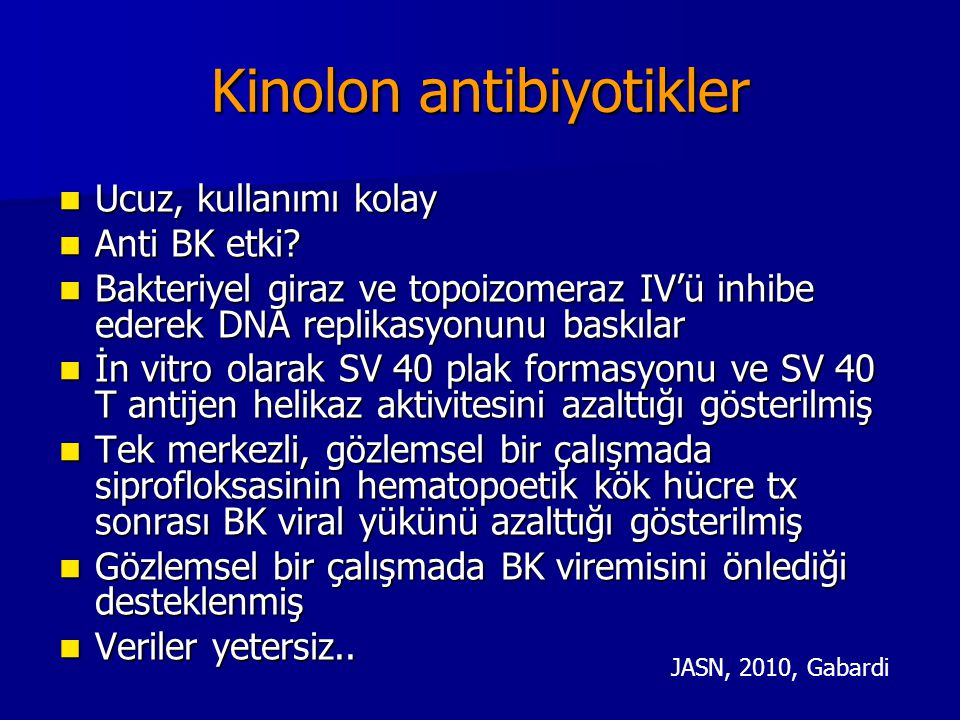 Kinolon antibiyotikler