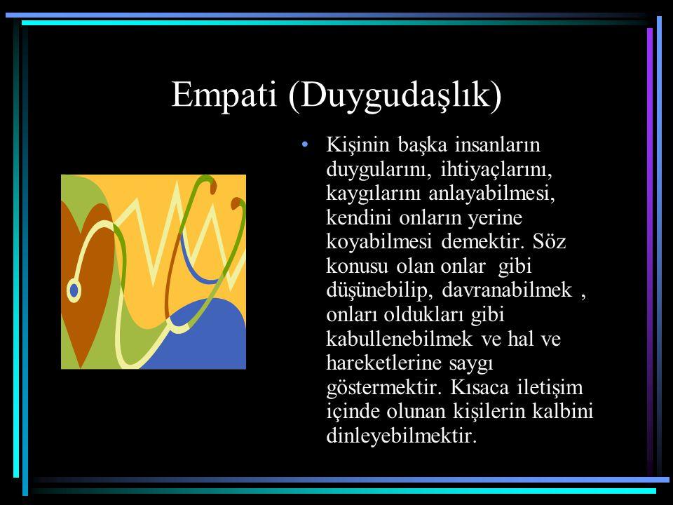 Empati (Duygudaşlık)