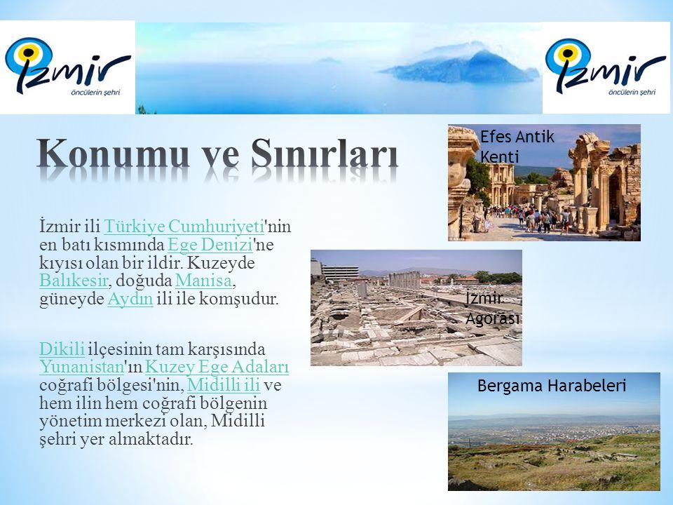 Konumu ve Sınırları Efes Antik Kenti.