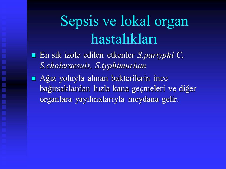 Sepsis ve lokal organ hastalıkları