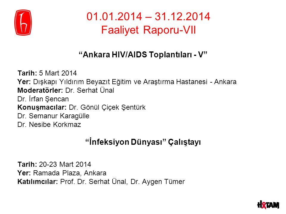 Ankara HIV/AIDS Toplantıları - V İnfeksiyon Dünyası Çalıştayı