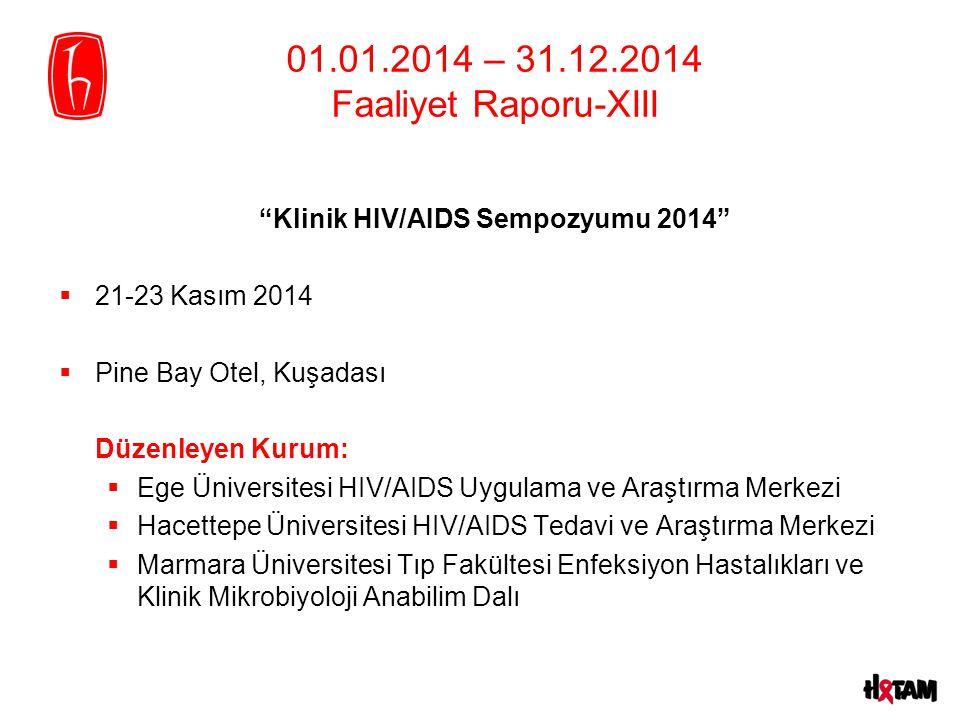 01.01.2014 – 31.12.2014 Faaliyet Raporu-XIII