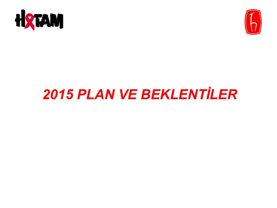2015 PLAN VE BEKLENTİLER