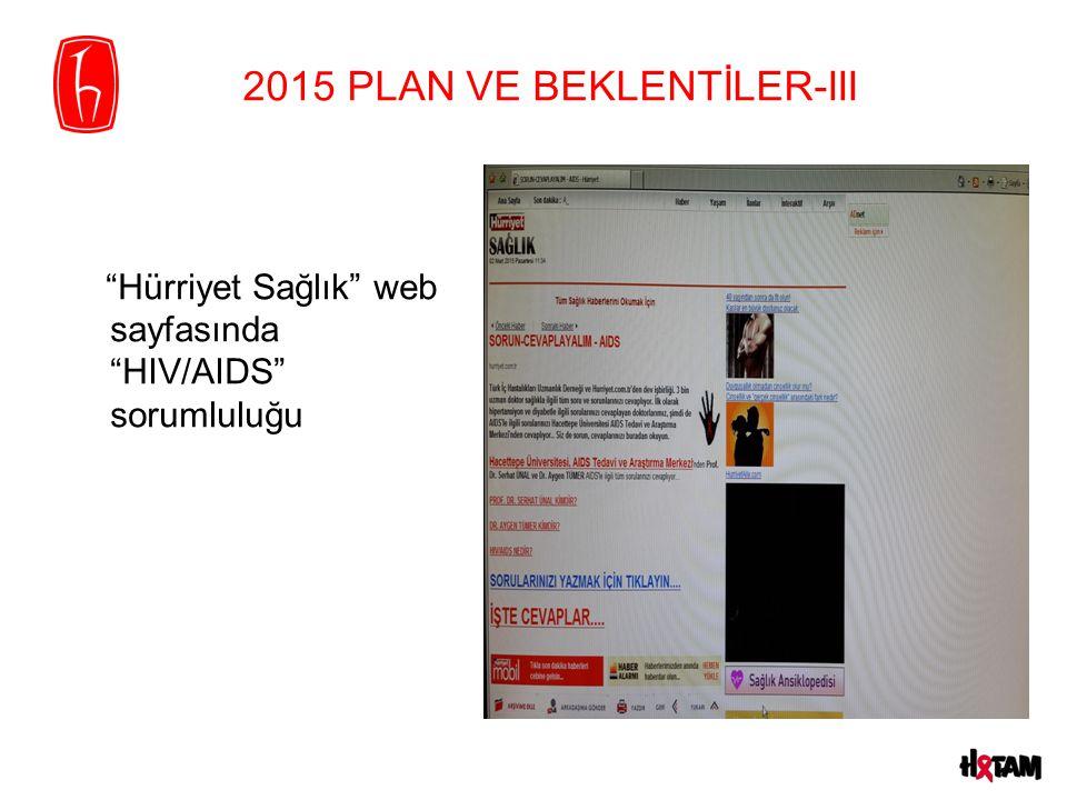 2015 PLAN VE BEKLENTİLER-III