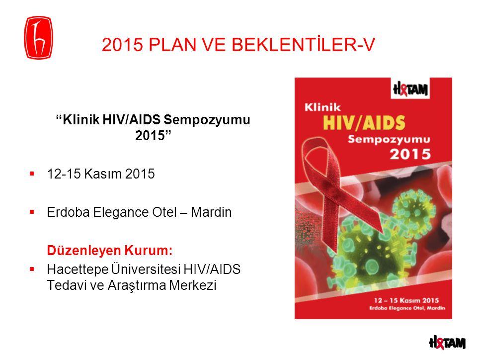 Klinik HIV/AIDS Sempozyumu 2015