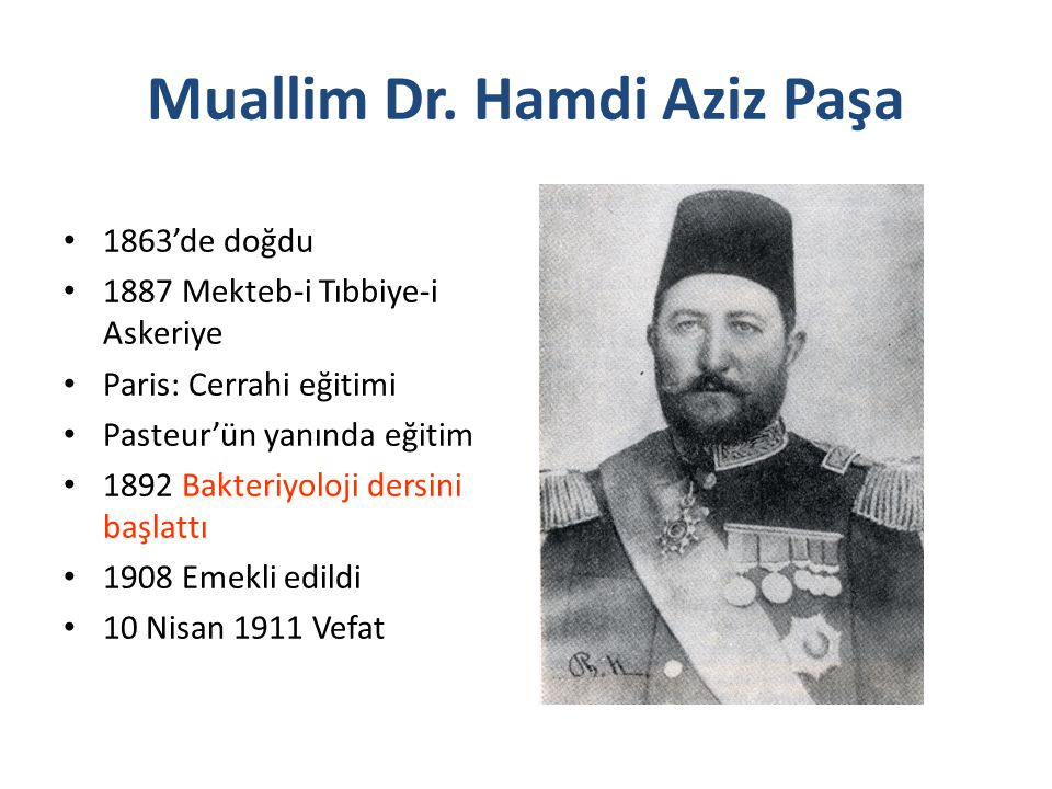 Muallim Dr. Hamdi Aziz Paşa