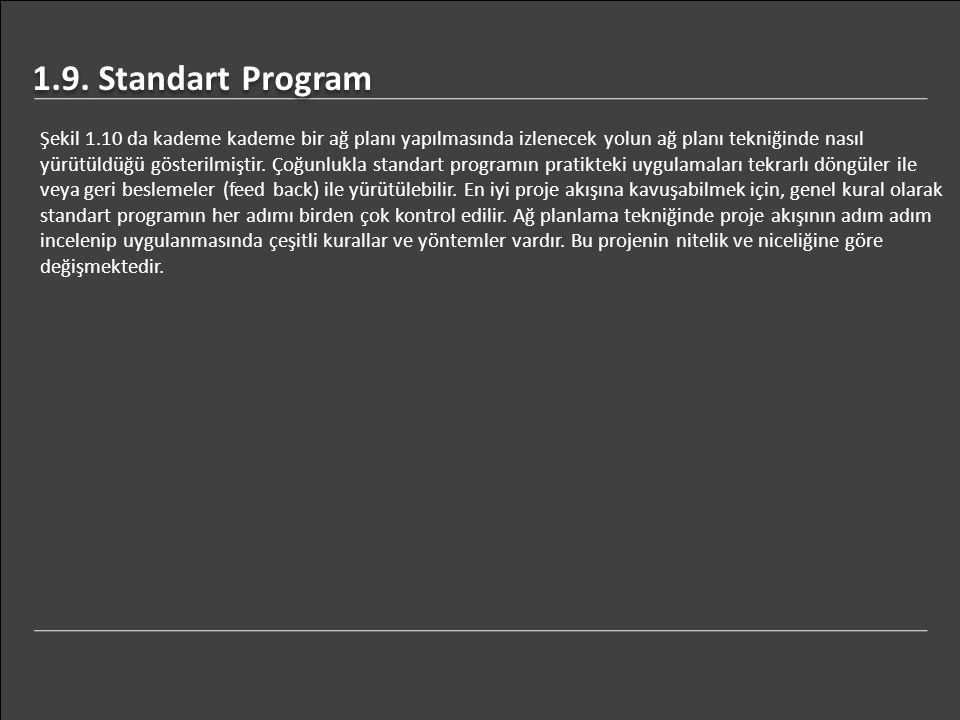 1.9. Standart Program