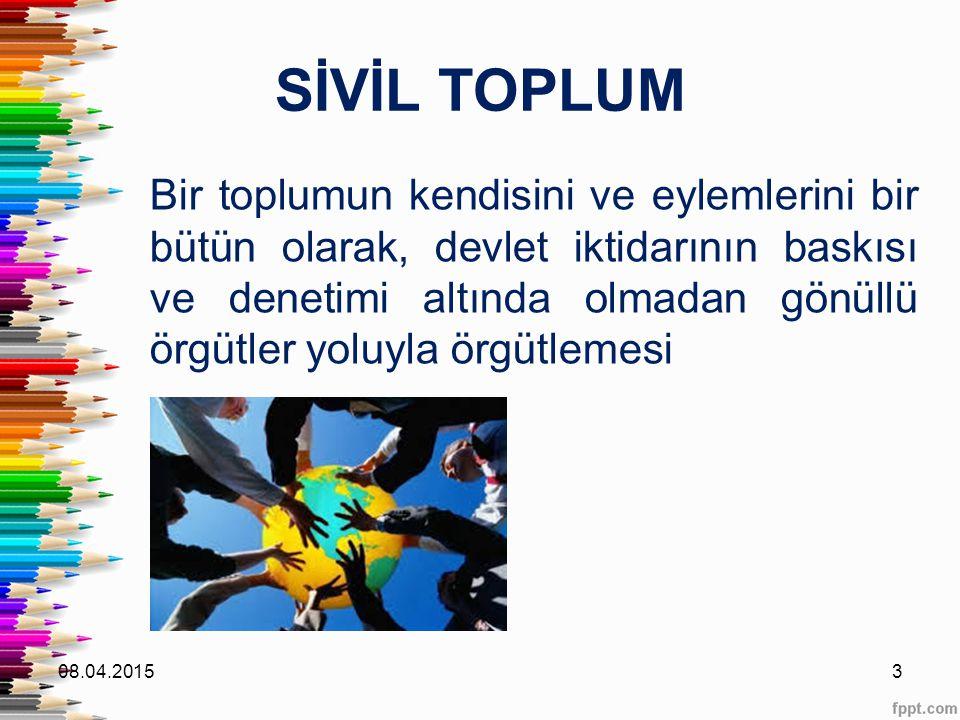 SİVİL TOPLUM