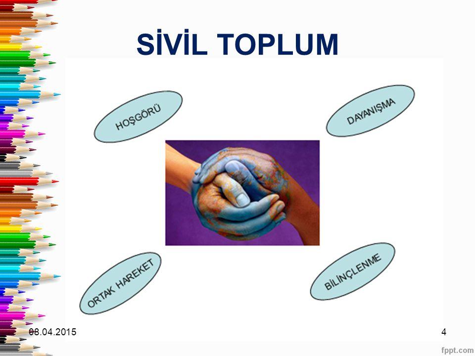 SİVİL TOPLUM 10.04.2017