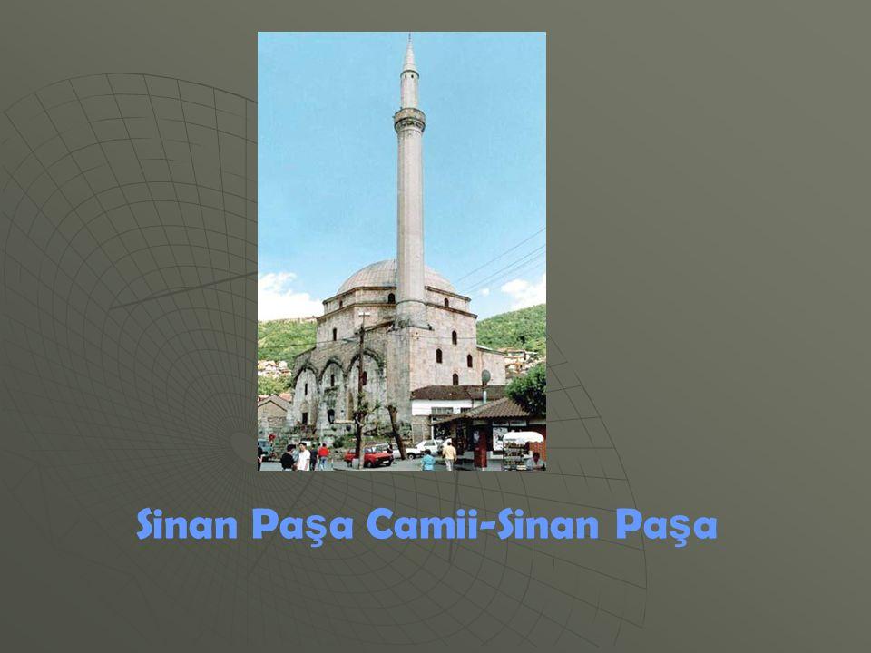 Sinan Paşa Camii-Sinan Paşa