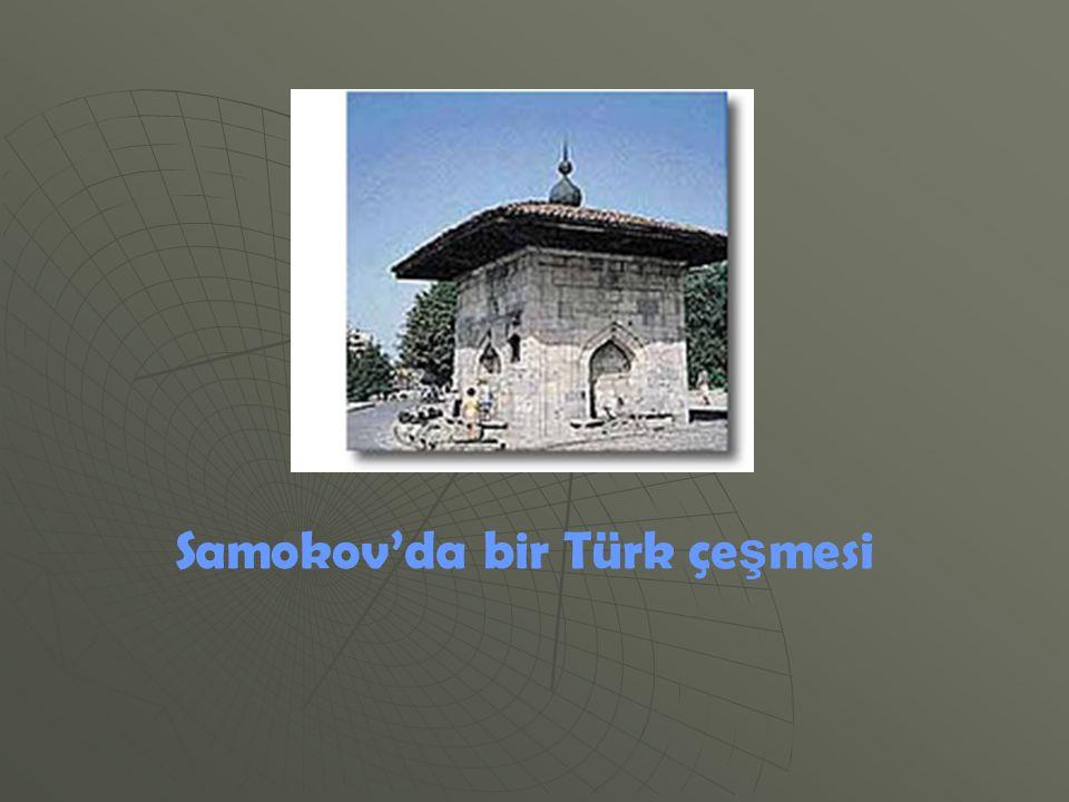 Samokov'da bir Türk çeşmesi