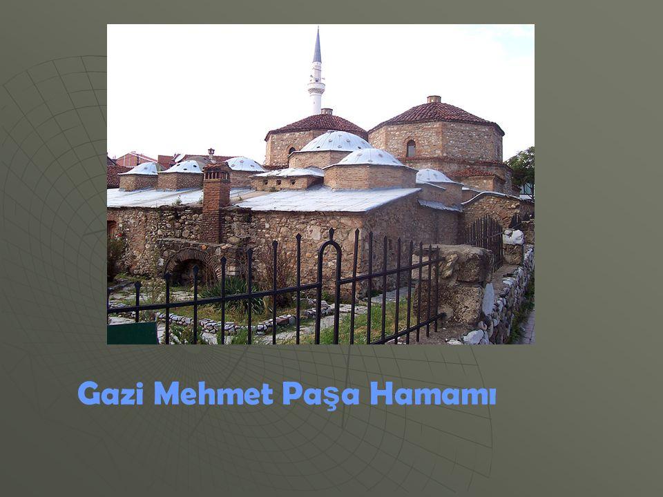 Gazi Mehmet Paşa Hamamı