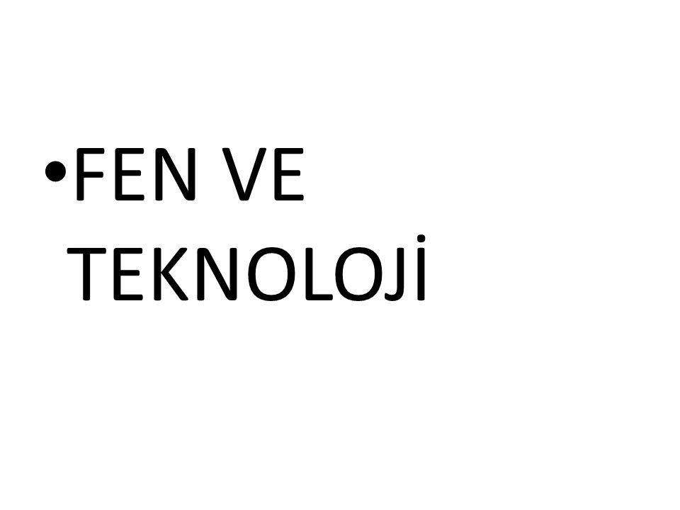 FEN VE TEKNOLOJİ