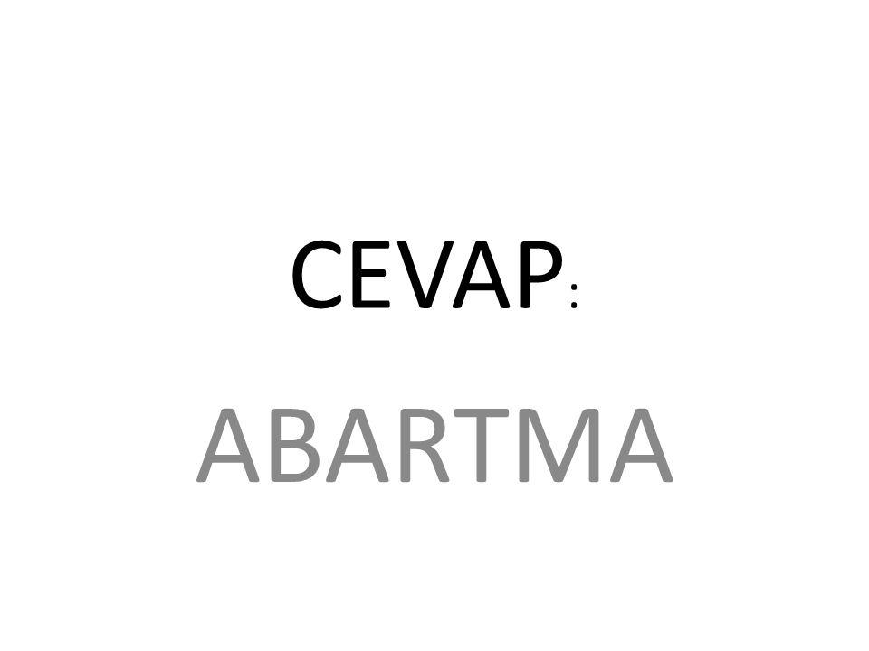CEVAP: ABARTMA