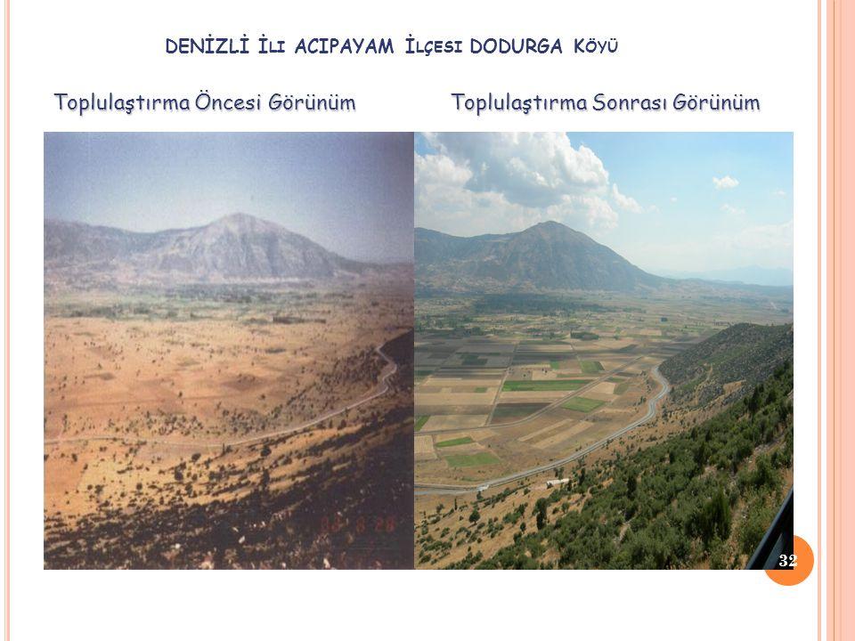 DENİZLİ İli ACIPAYAM İlçesi DODURGA Köyü