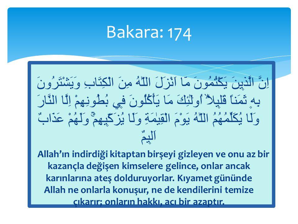 Bakara: 174