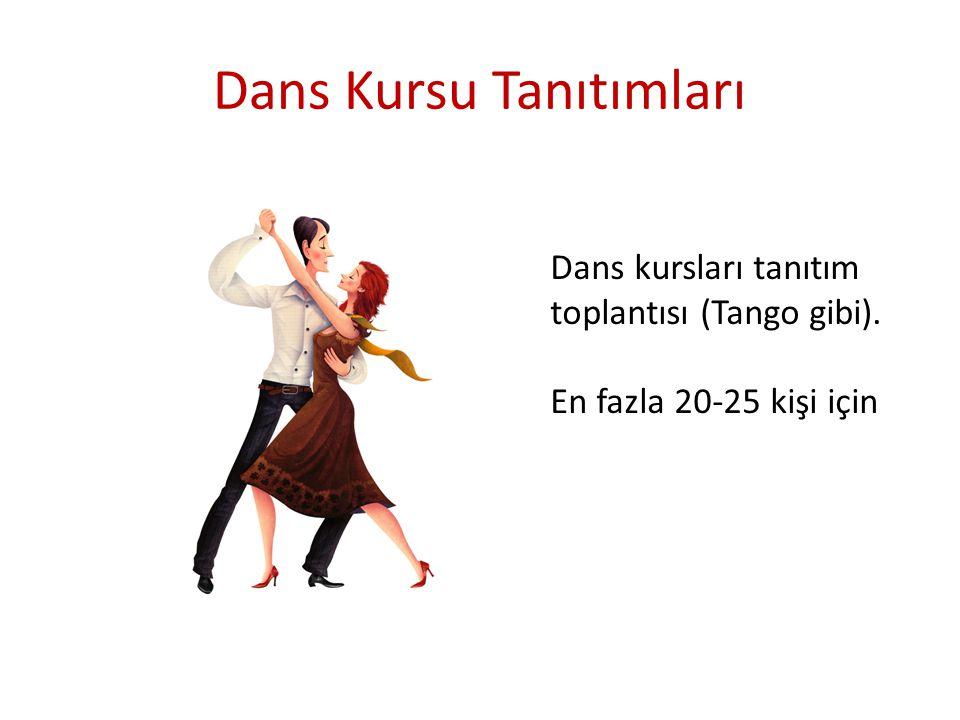 Dans Kursu Tanıtımları
